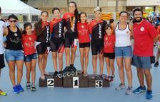Júlia Espín tanca la temporada amb tres ors al Campionat d'Espanya de Pista