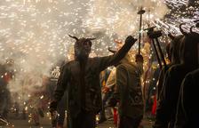 El Correfoc tanca unes festes amb xiulets al govern i en què el procés ha estat present