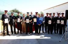 La Policia Local de Roda lliura felicitacions i medalles en el dia del seu patró