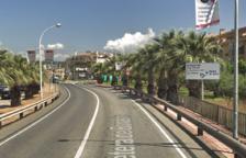 Una dona resulta ferida després de bolcar amb el seu cotxe a Roda de Berà