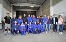 L'Arboç coordina un curs de soldador, una feina amb més demanda que oferta a la zona
