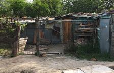 Les barraques i assentaments informals ocupen 15 hectàrees