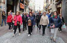 L'Olimpíada de la gent gran de Reus, en marxa