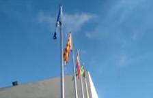 Diversos usuaris de les xarxes denuncien un boicot a la bandera espanyola als Pallaresos