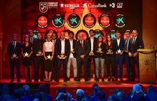 La FCF guardona els millors jugadors, entrenadors i àrbitres catalans