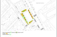 S'inicien les obres d'enjardinament i remodelació del parc Juroca