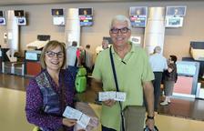 El primer vol de la nova connexió de l'Imserso s'enlaira cap a Eivissa