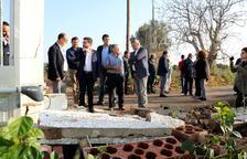 Aragonès no descarta sol·licitar la declaració de zona catastròfica per al Baix Ebre i el Montsià