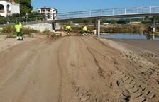 El Vendrell prioritza les tasques de neteja a les zones afectades pels aiguats