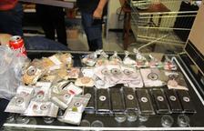 Detingudes set persones en una operació contra el cultiu de marihuana a Calafell