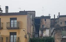 S'ensorra una casa deshabitada sobre un altre habitatge buit a Santa Coloma de Queralt