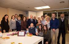 Homenatge Ramon Porqueras pels seus 100 anys
