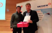 L'alumne de la URV Pere Sabaté Navarro guanya el Premi Messer