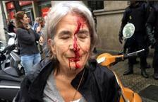 Un inspector de la policia espanyola durant l'1-O posa en dubte si el que tenien els ferits era «sang o pintura»