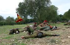 Les Brigades Internacionals són homenatjades en la commemoració dels 80 anys del final de la Batalla de l'Ebre
