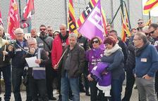 Els treballadors de PGI de la Selva donaran sang en defensa del conveni