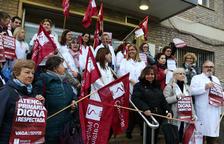 La vaga ha estat desigual segons Treball, l'ICS o el sindicat Metges de Catalunya