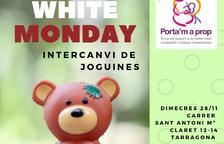 El White Monday arriba a Tarragona amb un intercanvi de joguines entre famílies