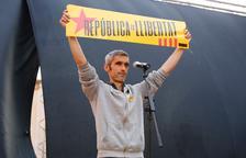 Roger Español, que va perdre l'ull l'1-O, explicarà la seva experiència al Vendrell