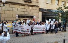 Els metges de la concertada de Tarragona seguiran en peu de guerra: la vaga acaba avui però hi haurà noves mobilitzacions