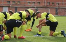 Toc d'atenció per als futbolistes grana després de la derrota a Sòria