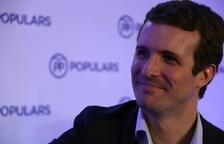 Casado exigeix a Sánchez «posar ordre a Catalunya» i torna a demanar l'aplicació del 155