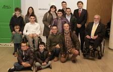 L'ONCE premia al Nàstic pel seu equip Genuine