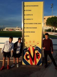 El Villarreal convida a l'escola del CD La Floresta a visitar les seves instal·lacions
