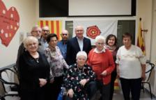 Reconeixement als avis i àvies del Casal Municipal Sant Bernat Calbó que enguany han fet 80 anys