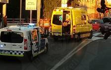 Atropellen una dona de 70 anys a la carretera Barcelona del Vendrell