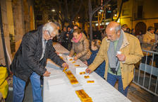 El torró més llarg de Catalunya torna un cop més a Vila-seca