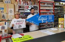 El 'Gordo' de la Loteria de Nadal toca per primera vegada a Tarragona