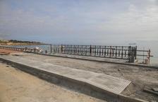 Un nou «balcó» a la platja del Miracle