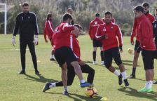 L'equip tornarà a la feina sense saber quin futur espera al Reus