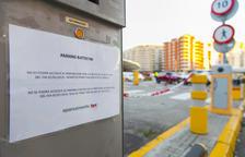 El pàrquing de Battestini tanca avui i el 2 de gener serà un carrer