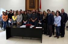 Front comú dels alcaldes de la Ribera d'Ebre per rebutjar del dipòsit de residus no perillosos de Riba-roja
