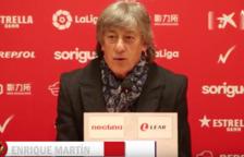 Enrique Martín: «No tinc ni idea si tenim equip per remuntar»