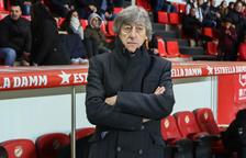Enrique Martín: «Aquest equip és nou i, amb el marge de temps que em queda, el trauré de baix, segur»