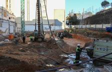 Preparen el terreny per iniciar la construcció dels habitatges de López Peláez