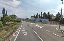 Un ferit lleu en un accident múltiple a la carretera del cementeri