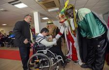 Els Reis d'Orient porten regals a La Muntanyeta