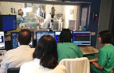 La nova sala d'hemodinàmica del Joan XXIII encara no s'ha posat en marxa
