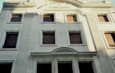 Activa Mútua recupera la façana del seu edifici històric d'Estanislau Figueras