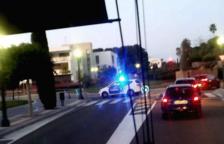 Un home de 46 anys ferit lleu en un accident amb dos vehicles implicats a la Via Augusta