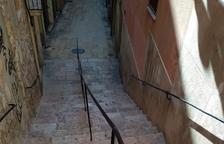 La barana de les escales d'En Arbós malmet un monument històric, segons Dídac Nadal