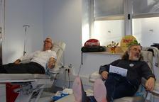 «Em sento bé donant sang, és molt necessari i positiu»