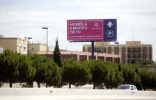 A Tarragona hi ha gairebé trenta grans cartelleres il·legals