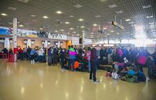 Quart diumenge seguit amb cinc vols d'esquiadors d'Alguaire reprogramats a Reus