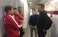 Onalfo fa la primera presa de contacte amb els jugadors