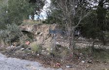 La Societat Arqueològica alerta del perill de destrucció d'un tram d'aqüeducte romà